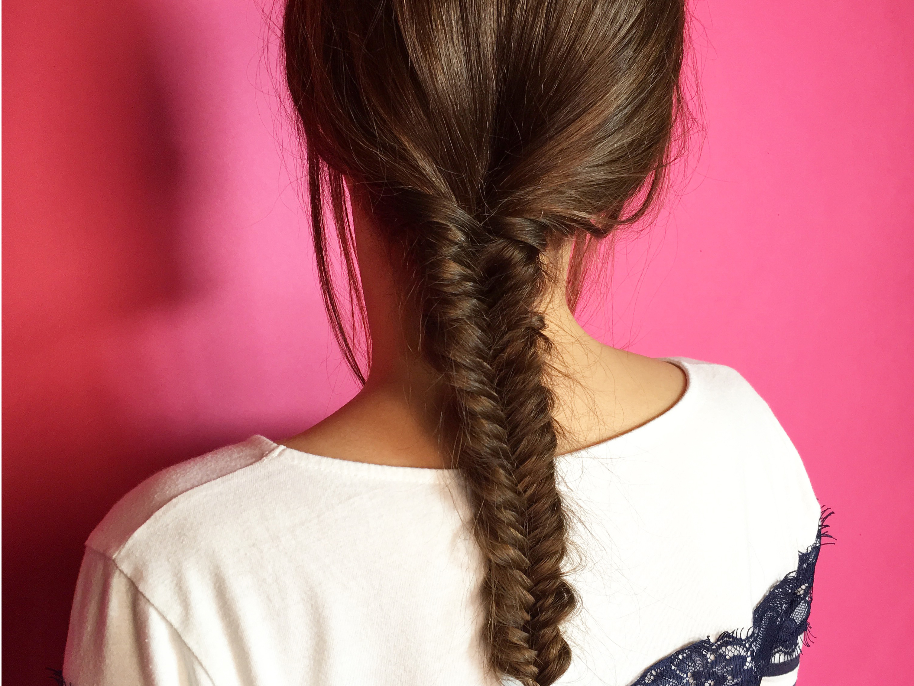How to do a fishtail plait for Fish tail hair