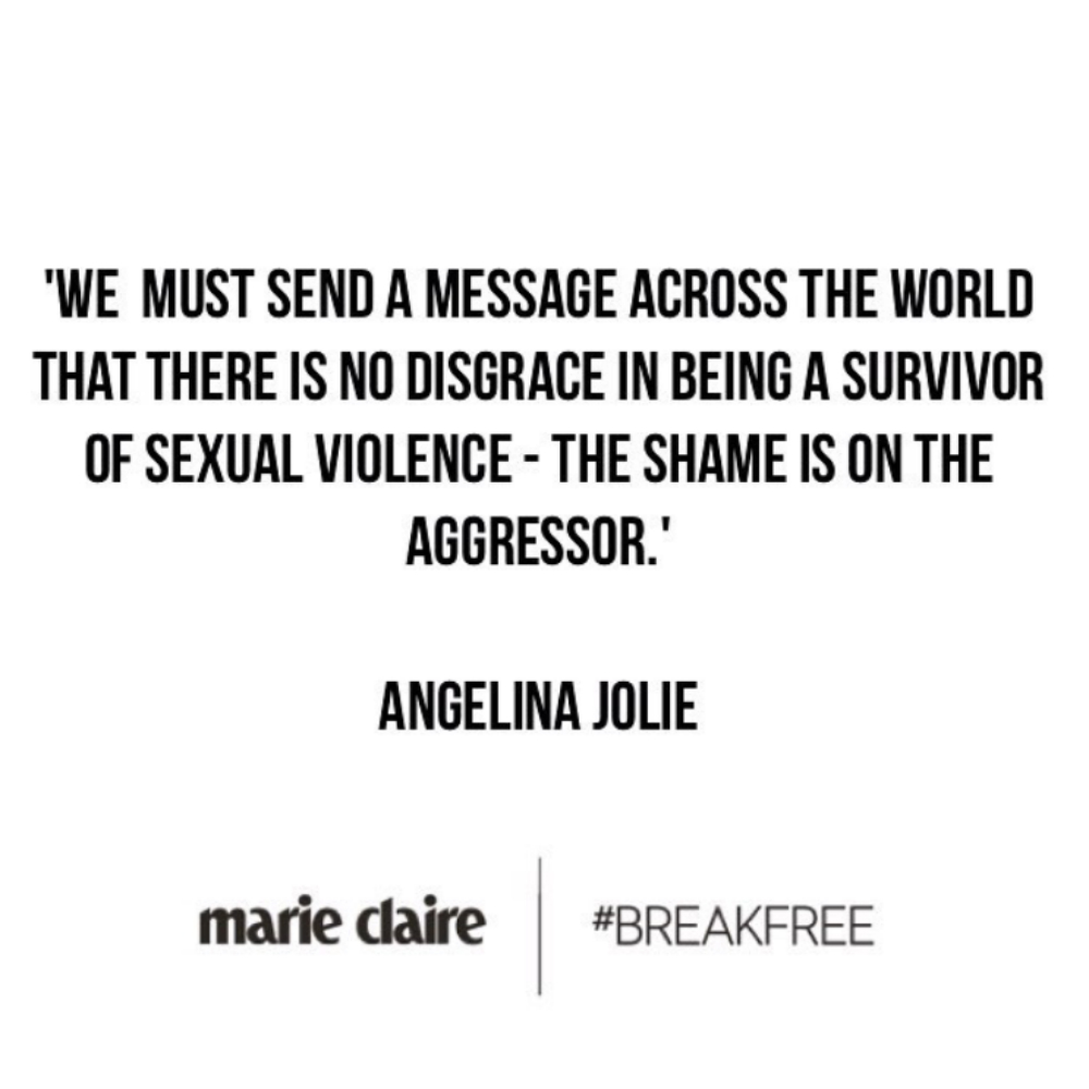 Quotes Women Celebrity Quotes On Sexual Assault And Rape