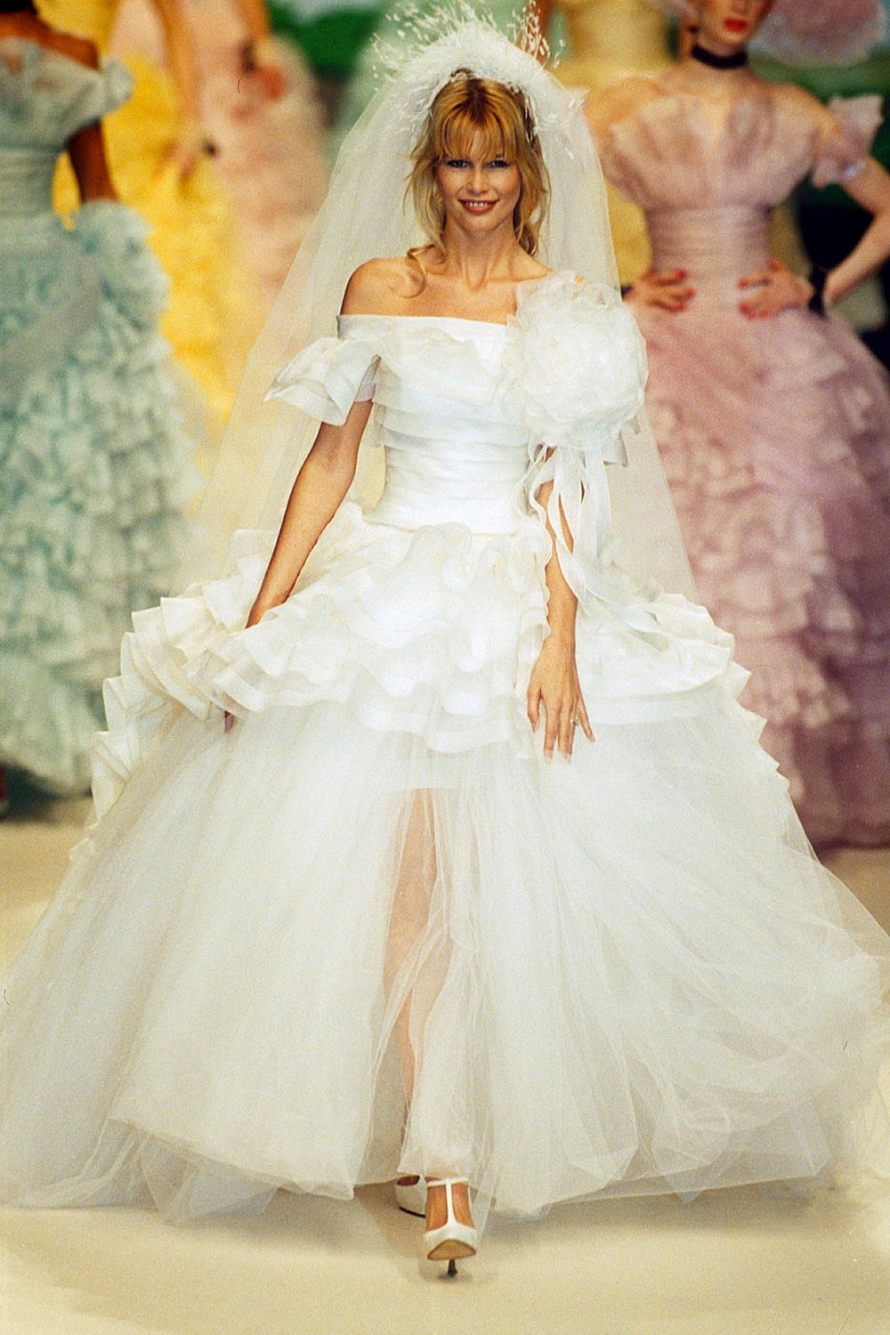 Best Chanel Wedding Dresses These Are The Celebrity Brides To Know