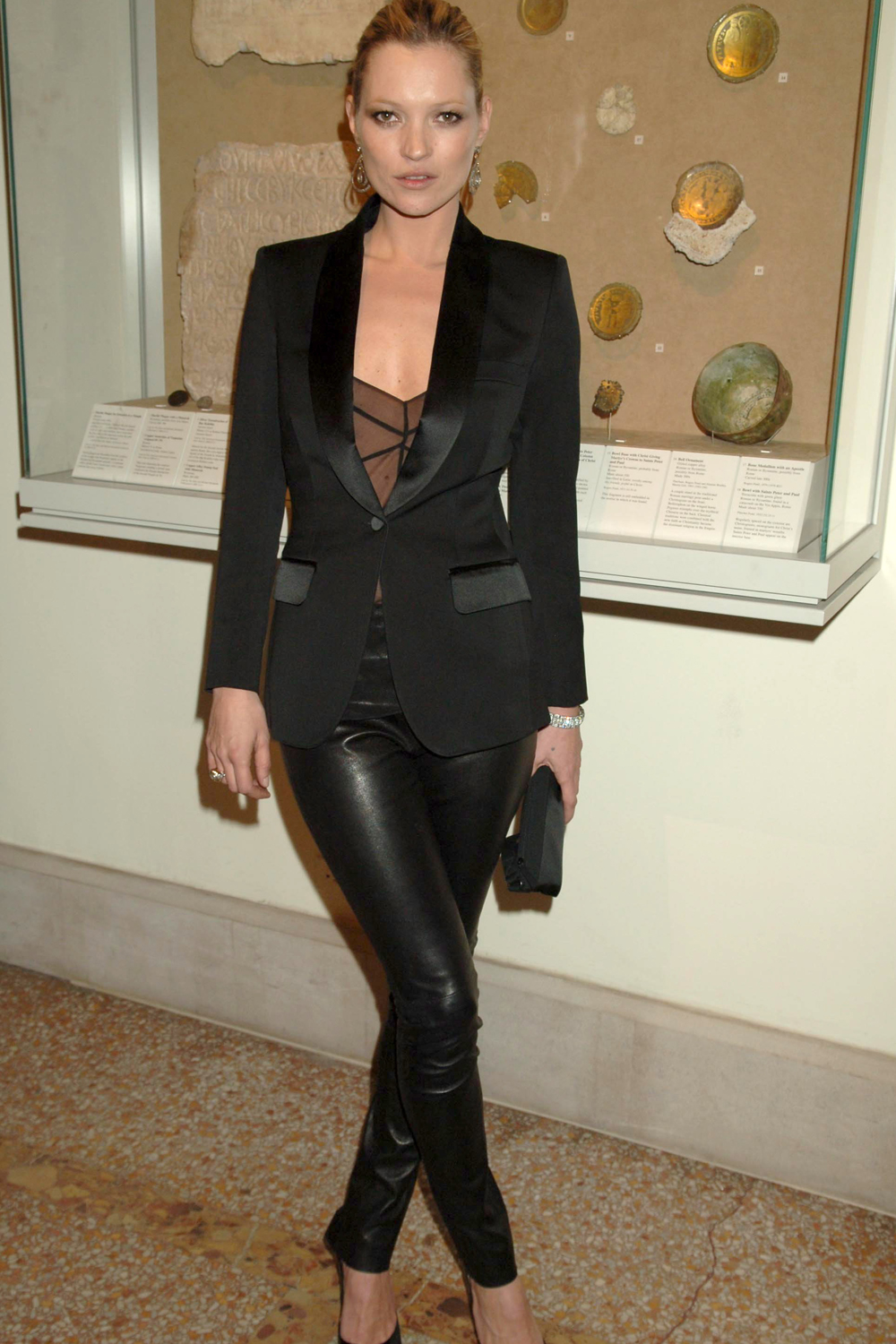 Leather Trousers History From Rock N Roll Musicians To Kate Moss