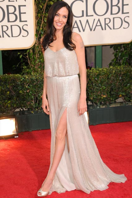 Angelina Jolie Best Golden Globe Dresses Ever