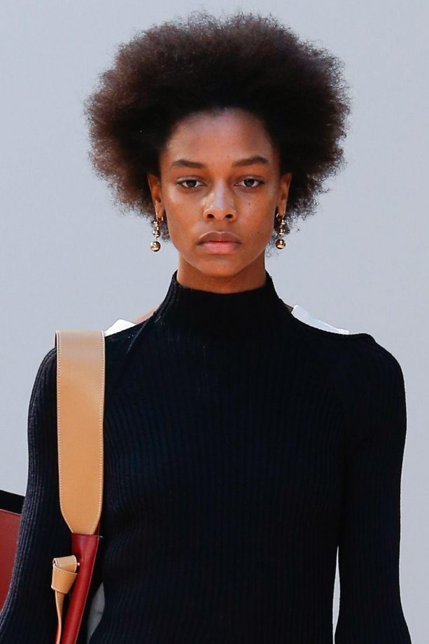 Fabulous Afro Hair On The Catwalk Short Hairstyles Gunalazisus