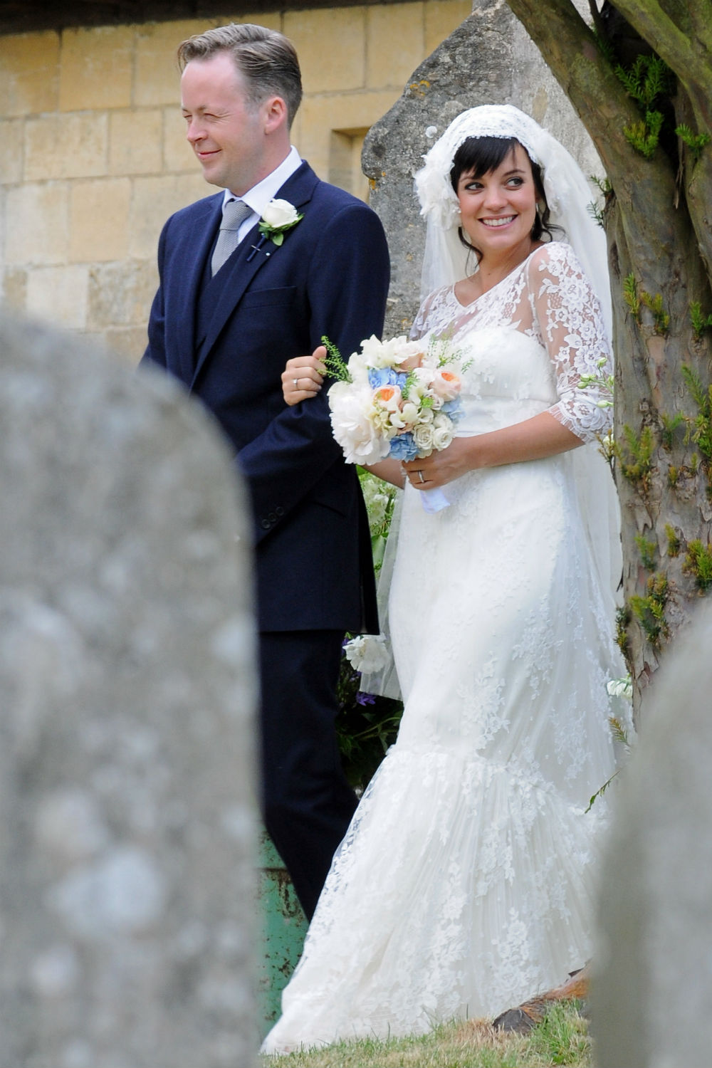 Lily Allen Lost Her 200k Chanel Wedding Dress