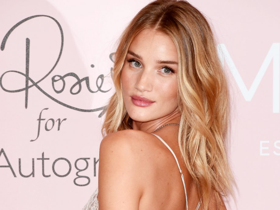 1a0386757f Rosie Huntington-Whiteley New M S Make-Up Line Interview
