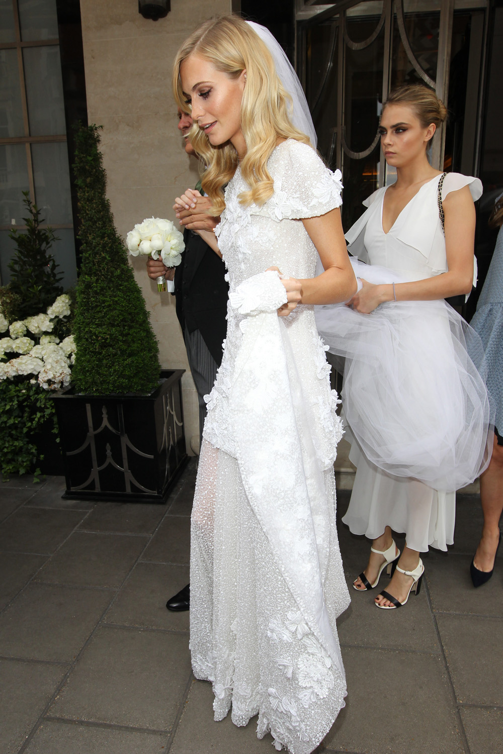 Best Chanel Wedding Dresses These Are The Celebrity Chanel Brides