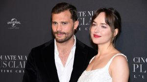 Ana and Christian Grey Fifty Shades of Grey try jiggle balls