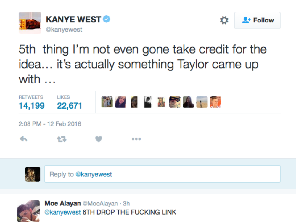 Kanye Insults Taylor Swift In His New Song Famous