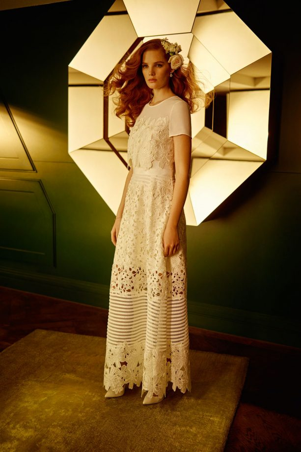 Ted Bakers New Season Bridal And Wedding Guest Collection