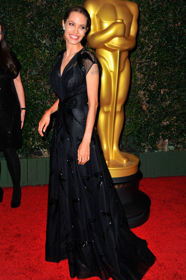 Angelina Jolie wows on the red carpet