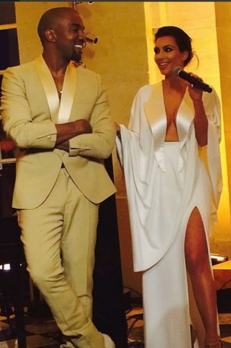 Kim and kanye dresses for wedding guests