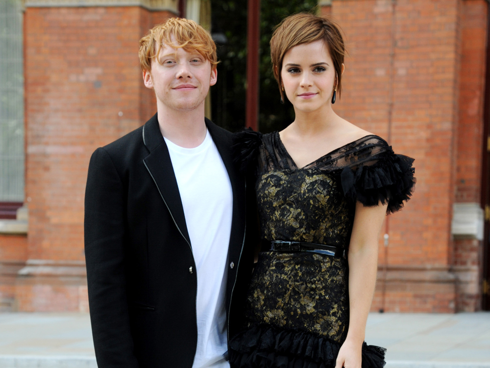 Rupert Grint Didn't Enjoy Kissing Emma Watson In 'Harry ...