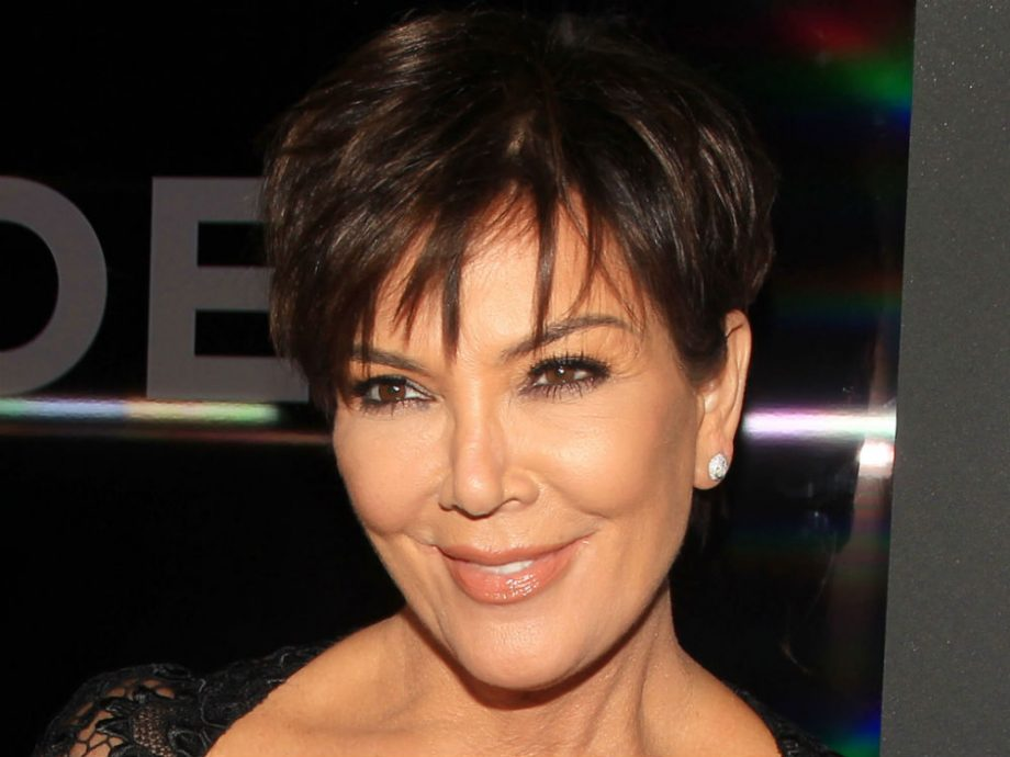 Kris Jenner Kick Stars 2018 With A New Hair Colour