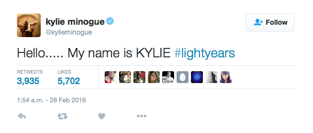 Kylie Minogue Kylie Jenner name feud