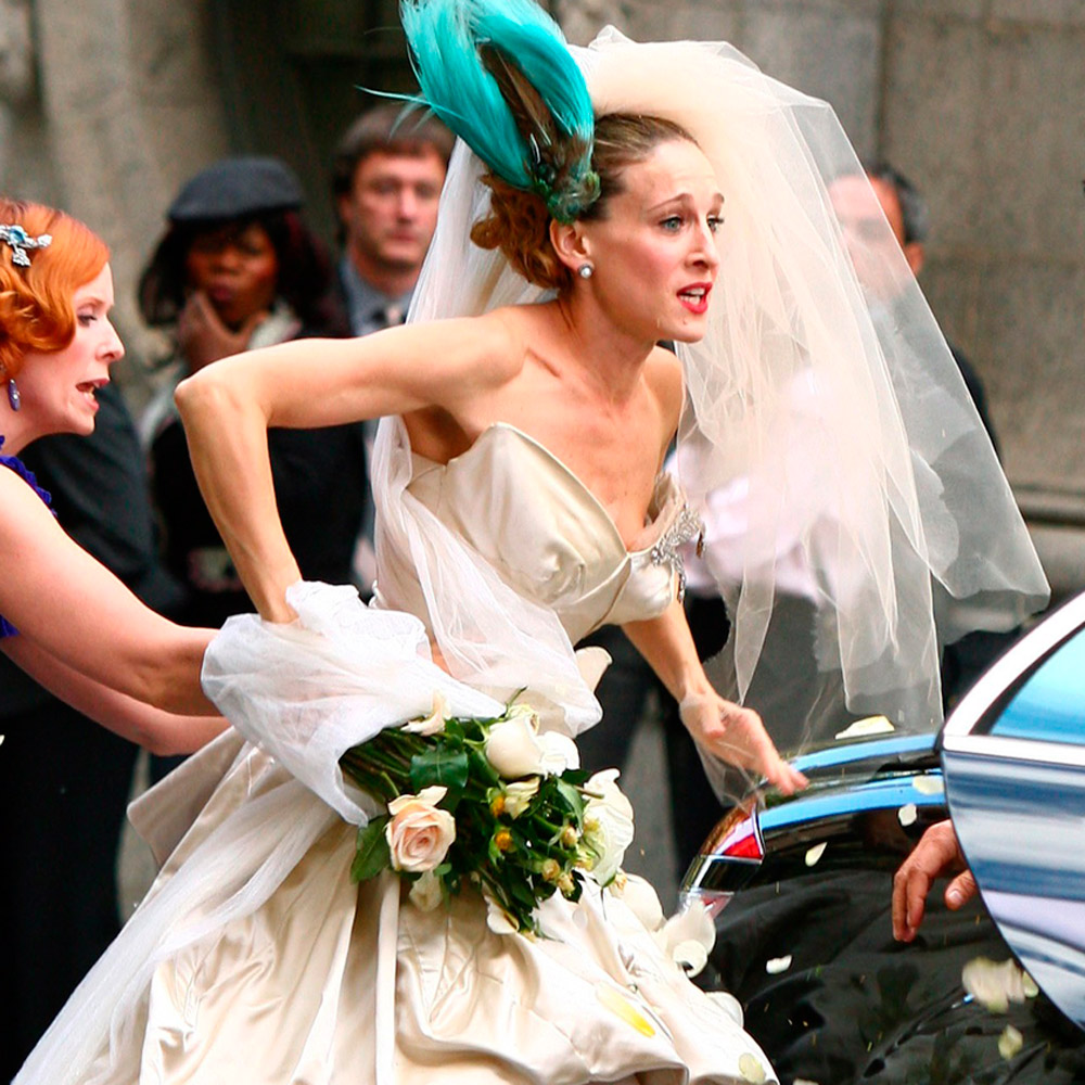 8 Things That Go Through Every Bride's Head When Shopping For A Wedding Dress