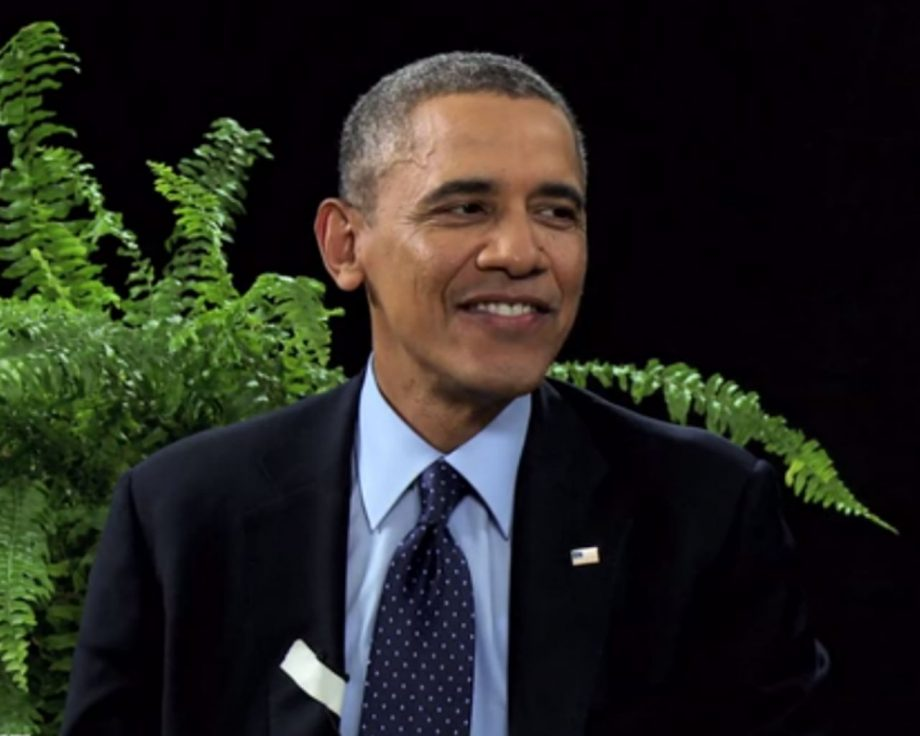 Barack Obama Behind Two Ferns with Zach Galifianakis