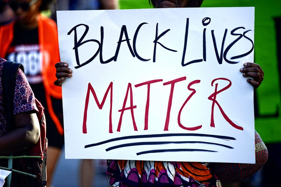 March for Black Lives Matter movement in South Carolina, 2015
