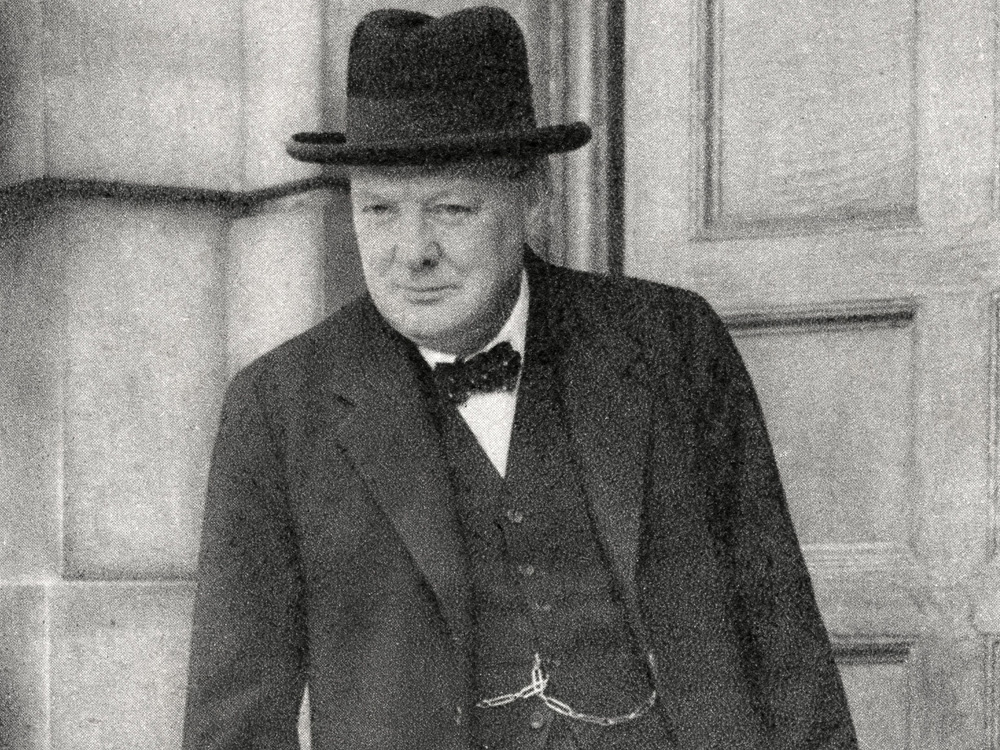 morning routines Winston Churchill