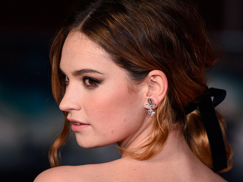 Lily James Image: Lily James Replaces Kate Moss As The New Face Of My