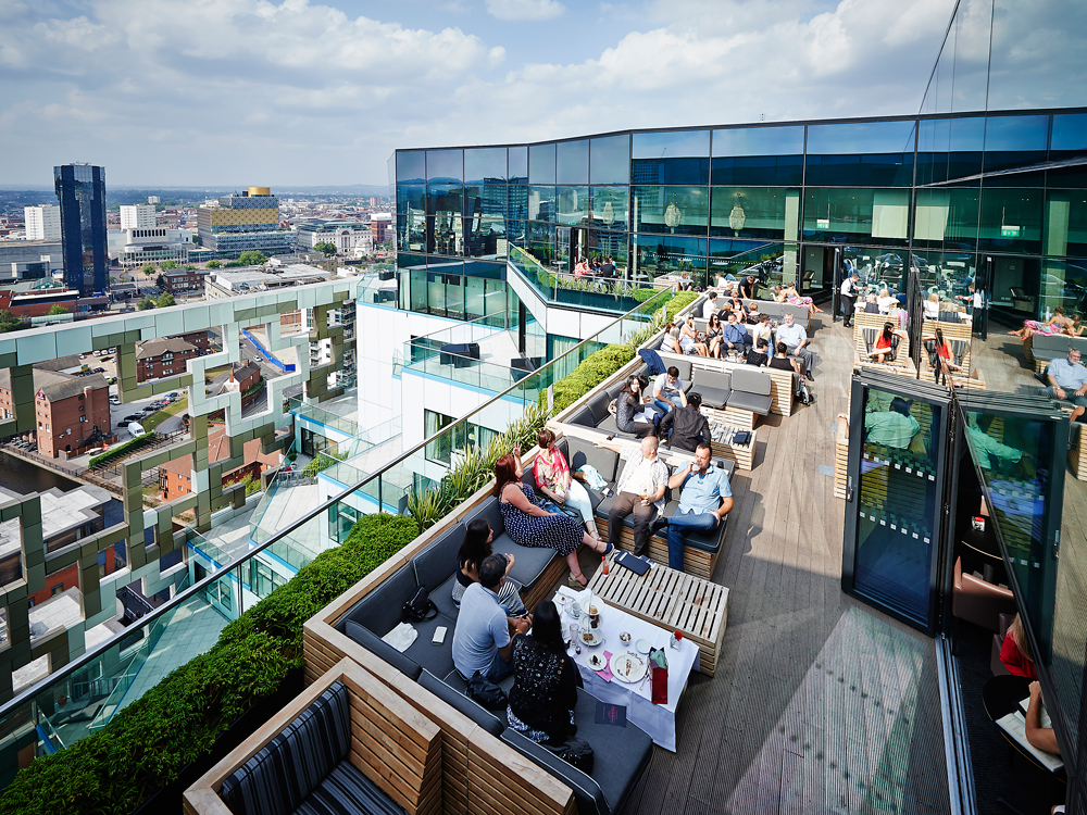 best rooftop bars birmingham