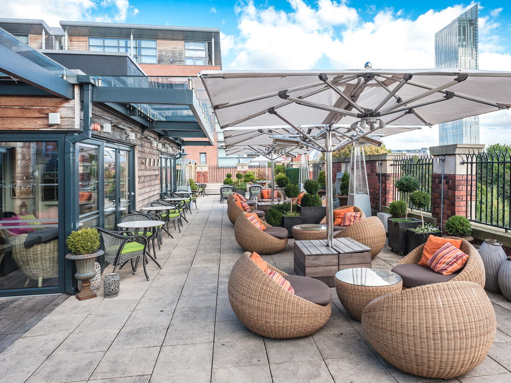 best rooftop bars manchester