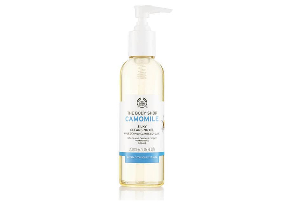 cleansing oil The Body Shop Camomile Silky Cleansing Oil