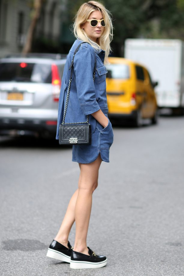 a8b8132871a Denim Dresses  Shop Fashion s Favourite Off-Duty Essential