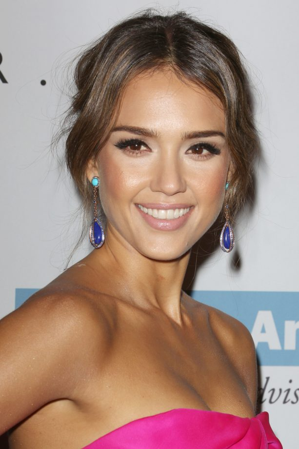 Hair updos a list inspiration for your party hairstyle jessica alba updo pmusecretfo Image collections