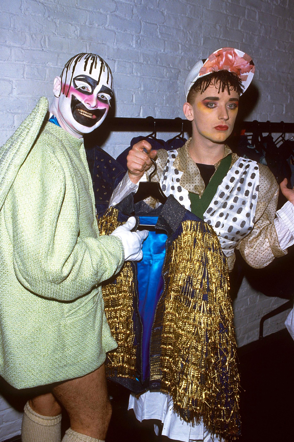 Boy George eighties 80s fashion