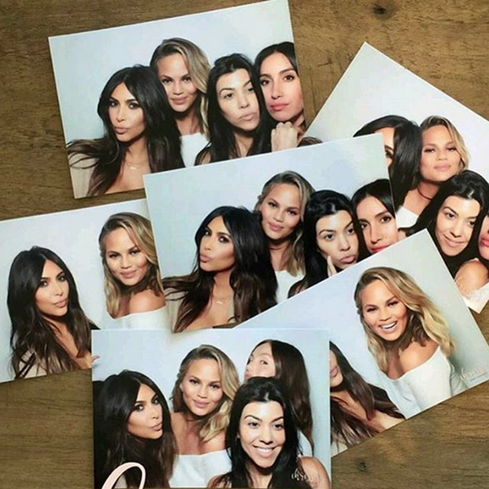 Celeb Baby Showers Part - 42: ... Celebrity-packed Baby Shower When You Could Have Two? Thatu0027s Right, Kim  Kardashian Threw Chrissy A Second Shower Over The Easter Weekend And, Of  Course, ...