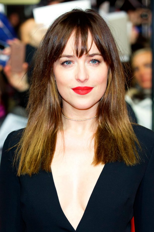 Ombre hair the best celebrity looks and how to get them dakota johnson ombre hair urmus Images