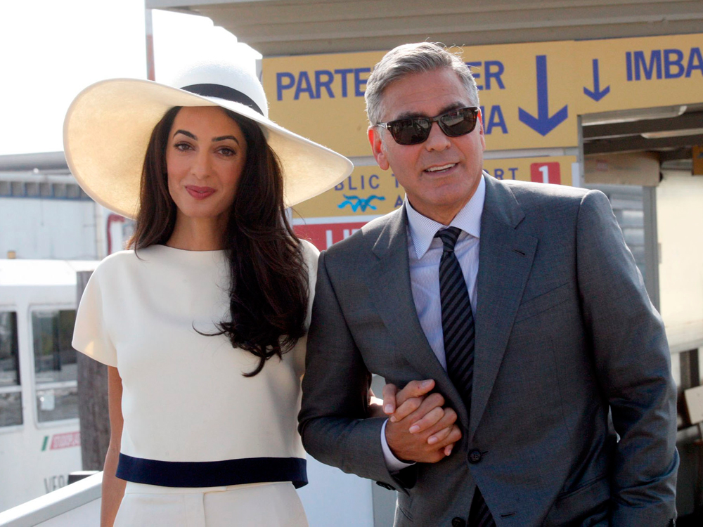 who dated george clooney
