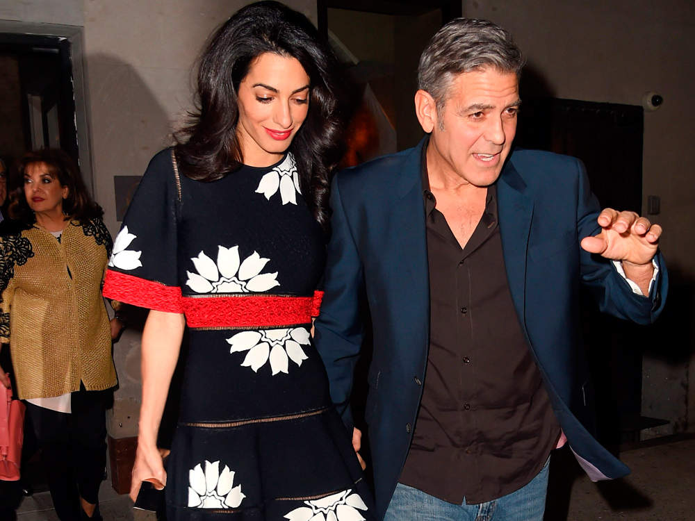 George Clooney Wife net worth tattoos smoking & body facts - Taddlr
