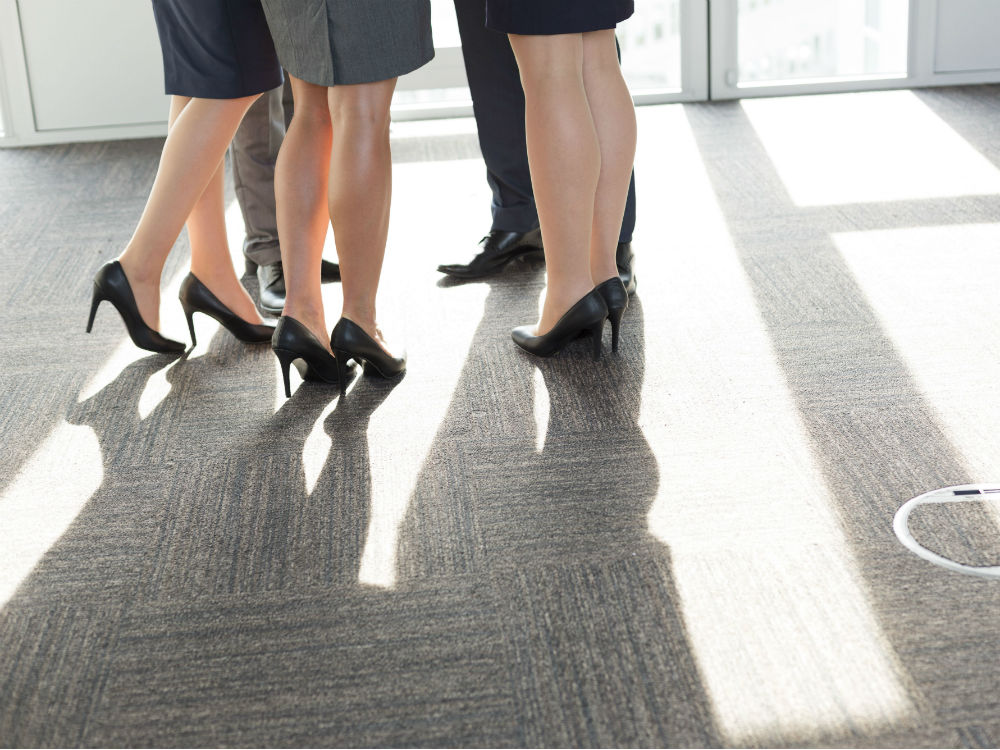 London Receptionist Sent Home For Not Wearing Heels
