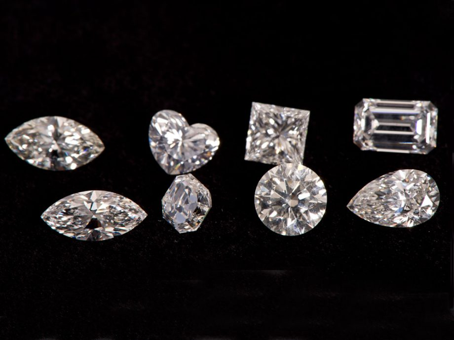 What are five ways to choose a diamond and determine quality?