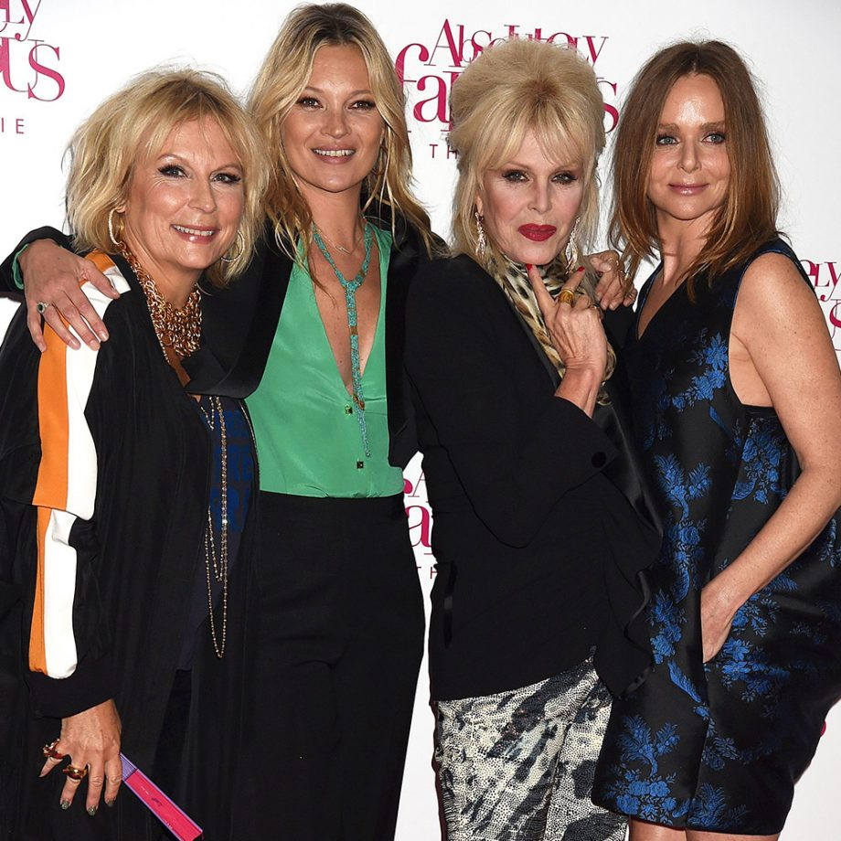 All the stars hit the Absolutely Fabulous The Movie premiere last night