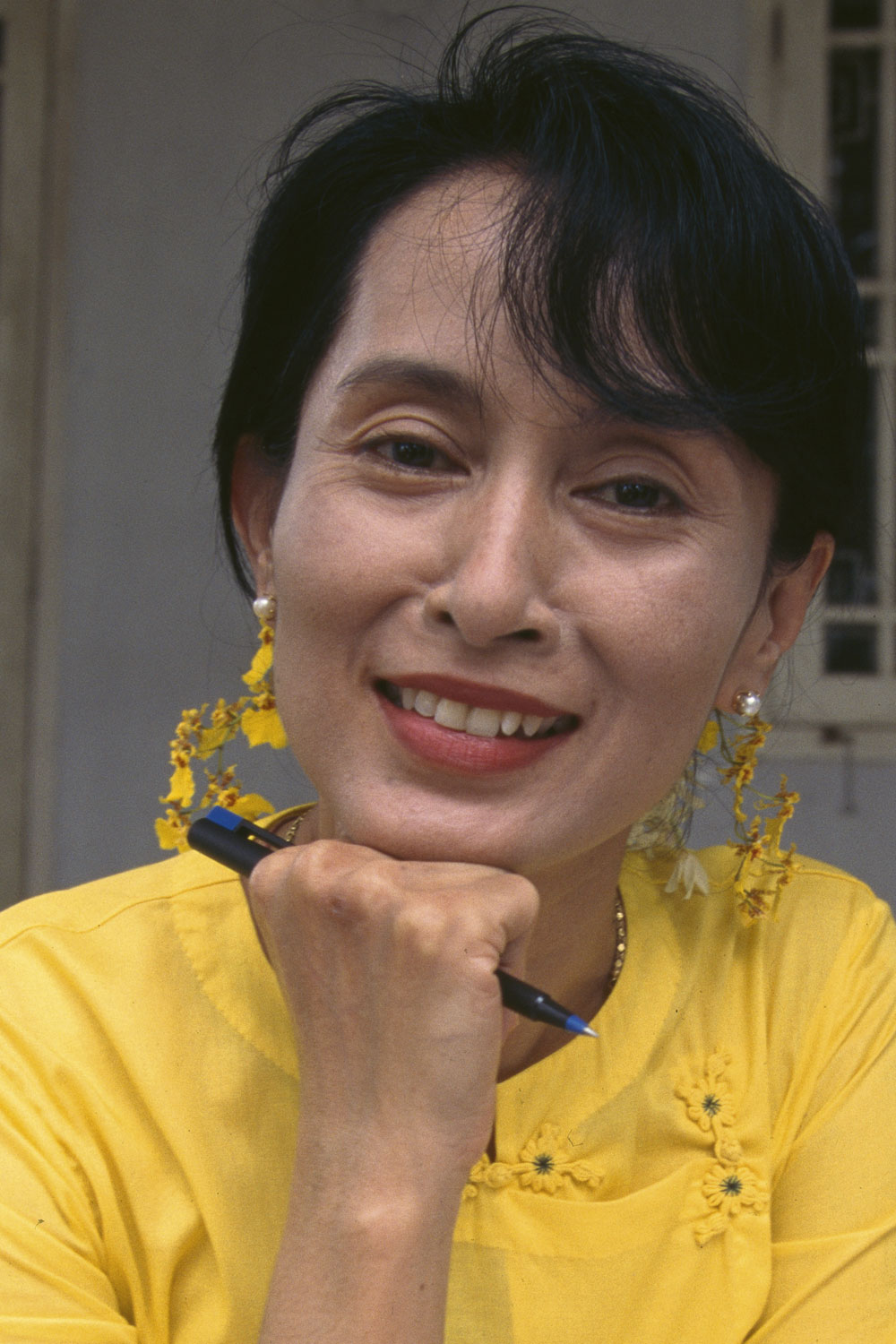 the person i admire most aung san suu kyi Leadership secrets of aung san suu kyi pa 762 yoko shimizu may, 2015 ease of communicating with foreigners are entrepreneurial qualities that people admire.