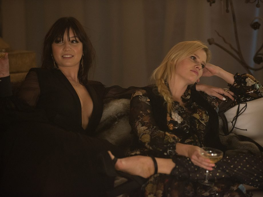 Daisy Lowe Lara Stone Ab Fab Movie