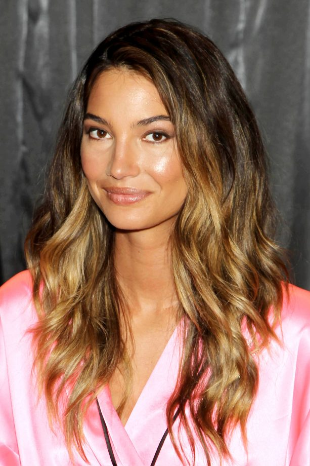 Hairstyles For Thick Hair Lily Aldridge Jpg