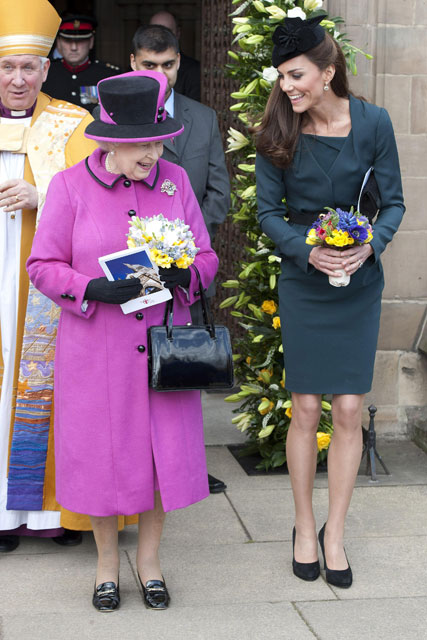 Kate Middleton and The Queen - Diamond Jubilee 2012 - Maire Claire - Marie Claire UK