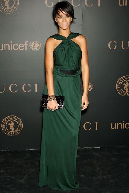 Marie Claire celebrity photos: Rihanna, A Night to Benefit Raising Malawi and UNICEF hosted by Gucci, New York