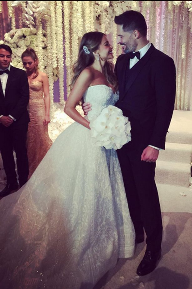 Sofia Vergara Joe Manganiello Wedding Instagram