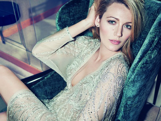 Blake Lively August Marie Claire