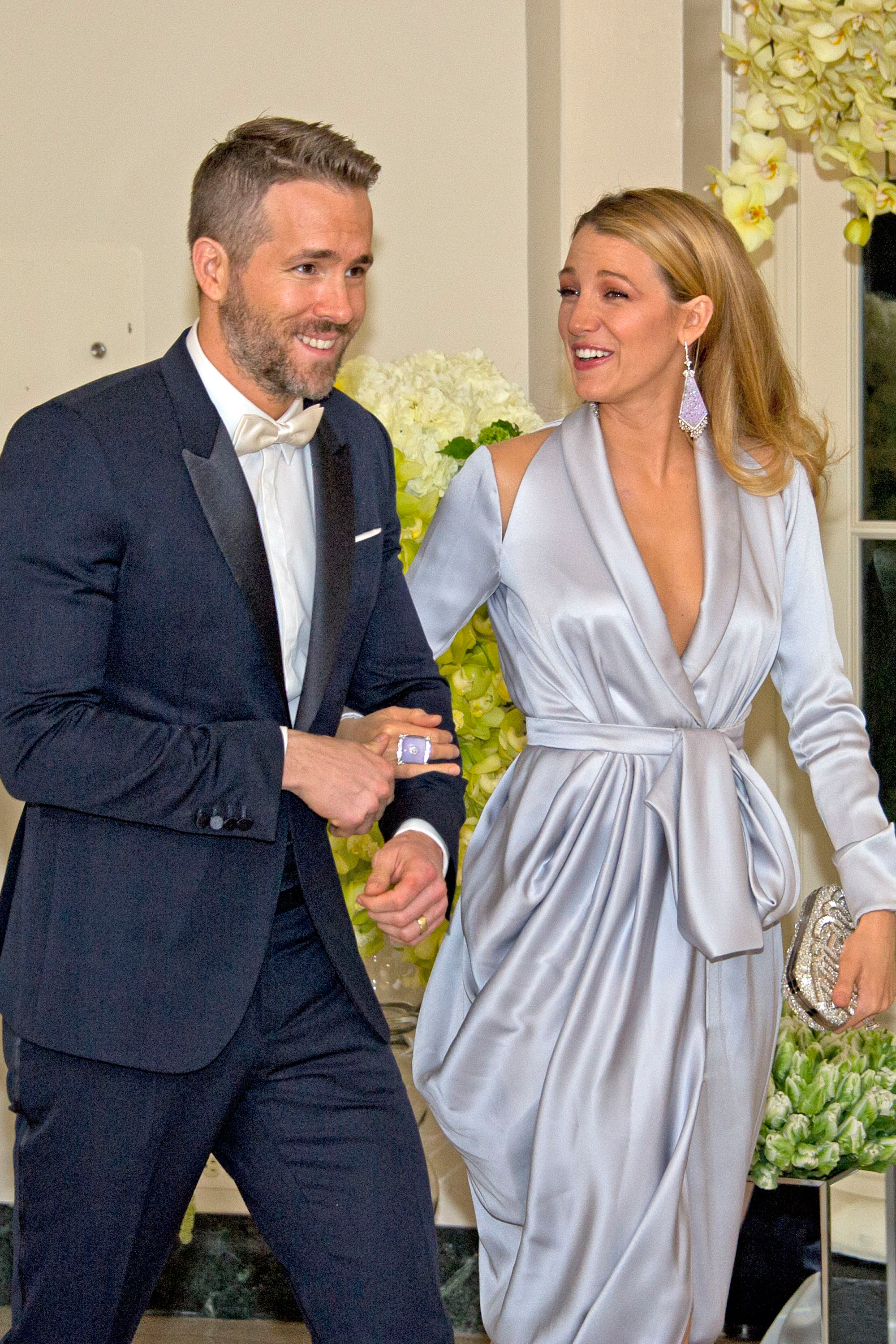 Blake Lively Wedding Dress.Ryan Reynolds Blake Lively Wedding Dress Gown And Dress Gallery