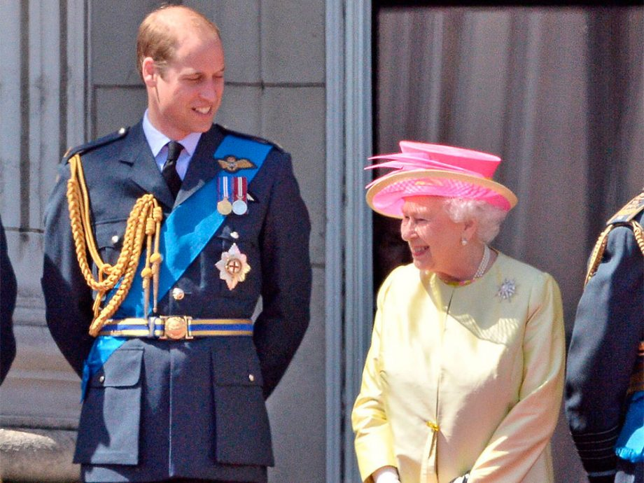 Prince William and Queen