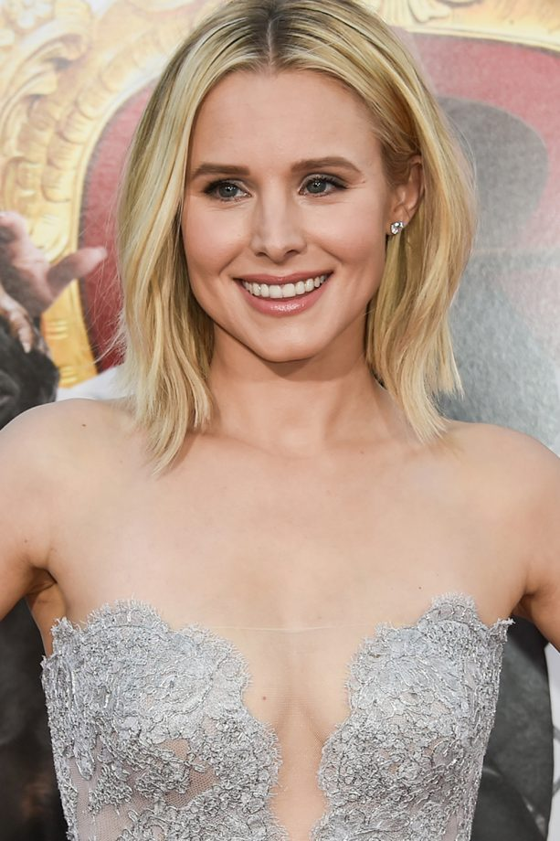 Kristen Bell Tattoos Under Chin: Blonde Hairstyles For Just About Every Tone Of Blonde Out