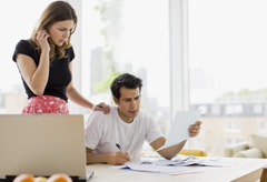 Woman worrying about bills, financial crisis, first time home buyers, problems for first time home buyers, money stress
