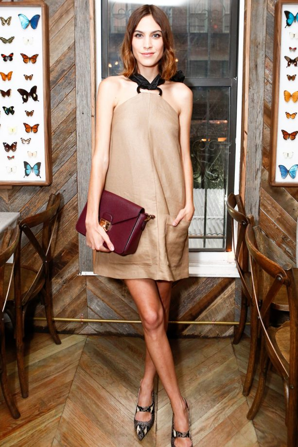 Alexa Chung hosts Longchamp dinner