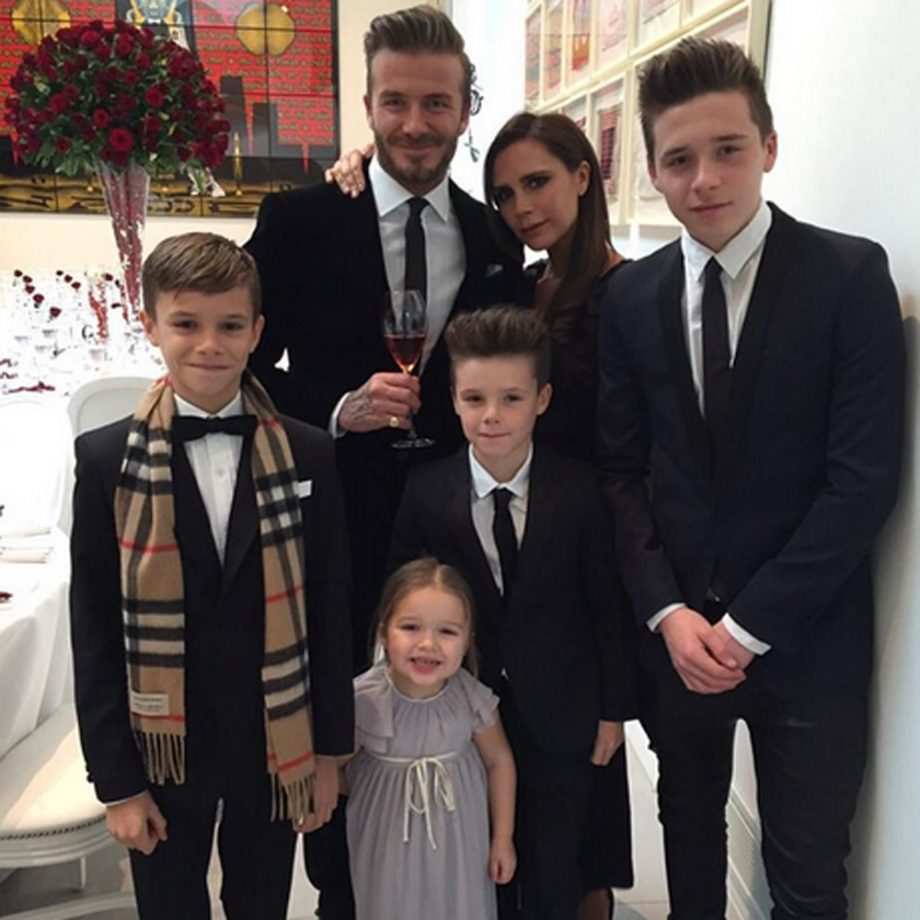 Image result for beckham family