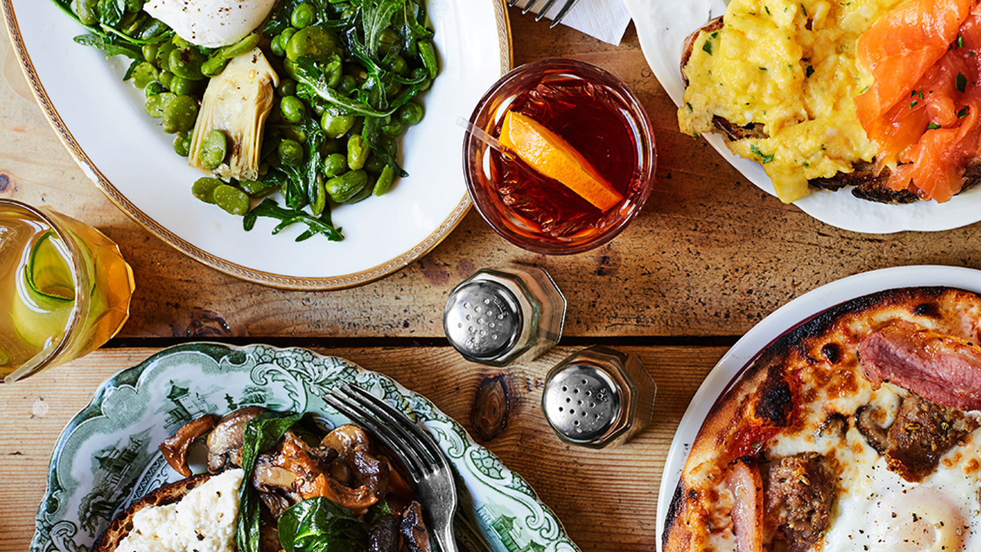 50 seriously cool places to have brunch in London