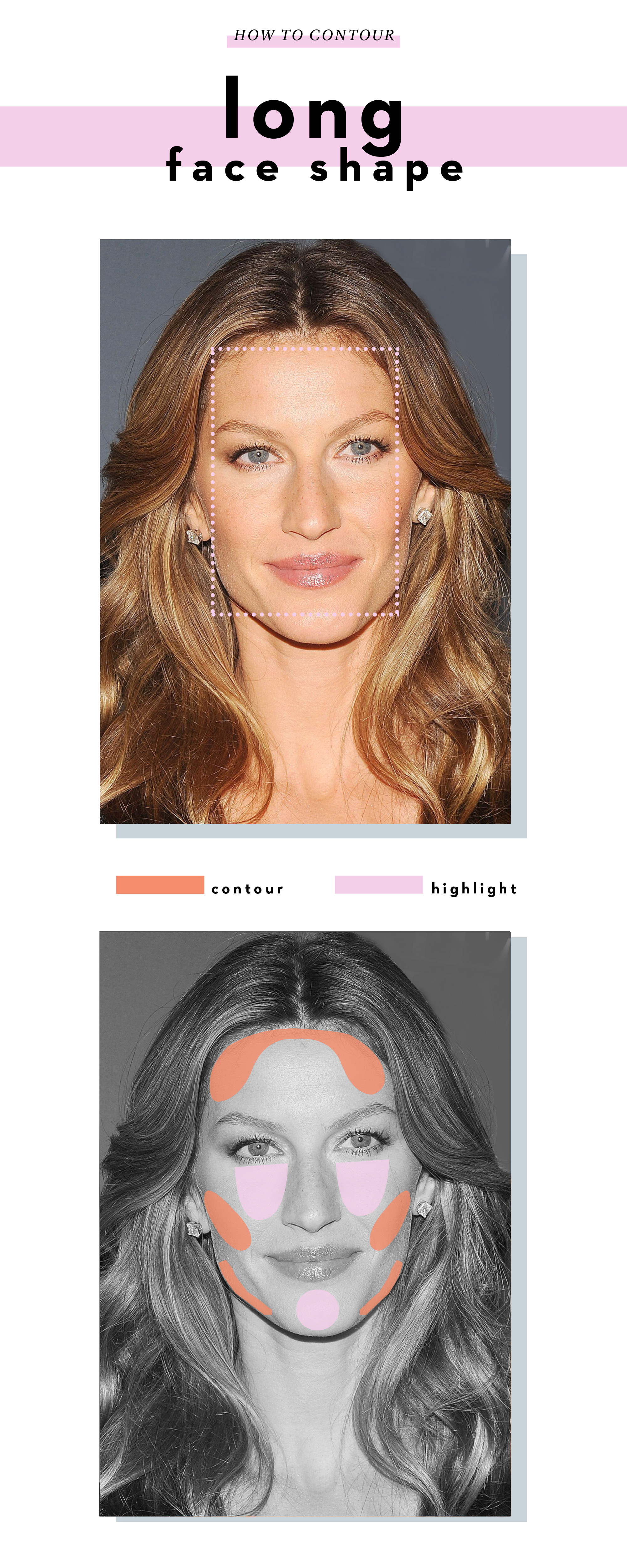 How to contour the definitive guide on how to do it right how to contour a long face shape ccuart Gallery